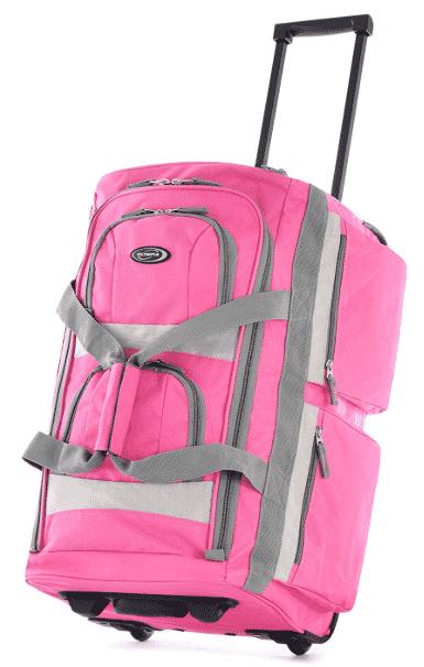 Olympia Luggage Sports Plus 29 Inch 8 Pocket Rolling Duffel Bag