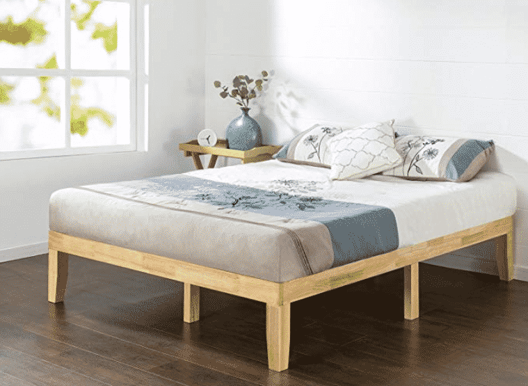 Zinus 14 Inch Wood Platform Bed