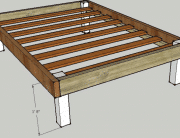 Top 10 Best Wooden Bed Frames Review 2019