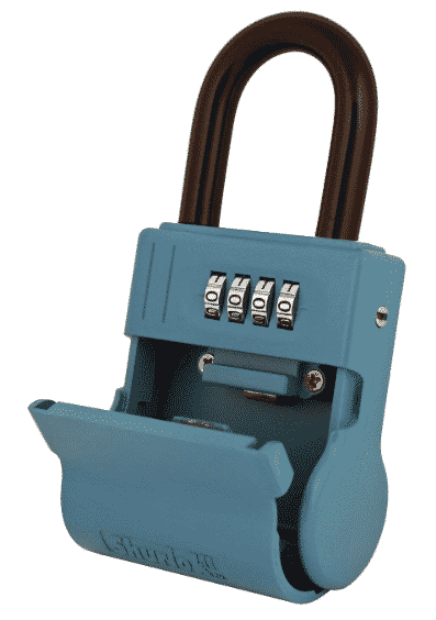 ShurLok SL-600W 4 Dial Numbered Key Storage Combination Lock Box