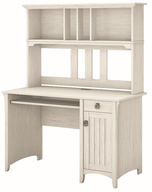 Bush Furniture Salinas Computer Desk with Hutch
