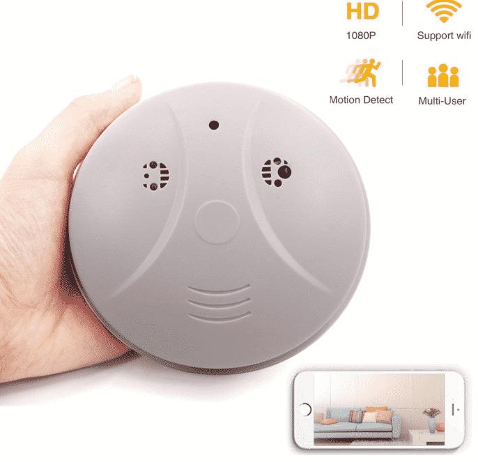 HongSheng WiFi Camera Smoke Detector