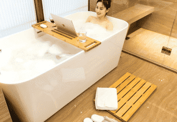 Top 10 Best Bamboo Bath Mats in 2019 Review