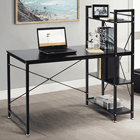 TANGKULA Computer Desk Modern Style Writing Study Table