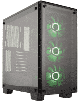 Corsair CC-9011101-WWCORSAIR CRYSTAL 460X RGB Compact Mid-Tower Case