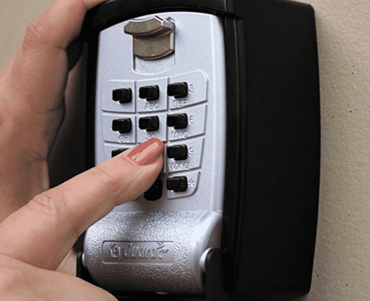 KeyGuard SL-590 Punch Button Key Storage Wall Mount Lock Box
