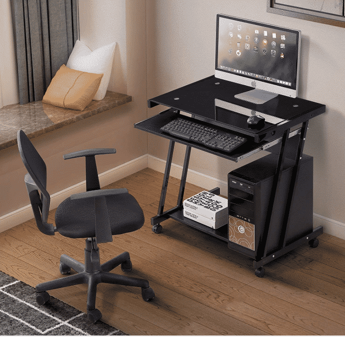 Mecor Computer Desk Corner Laptop Table Workstation Home Office Furniture