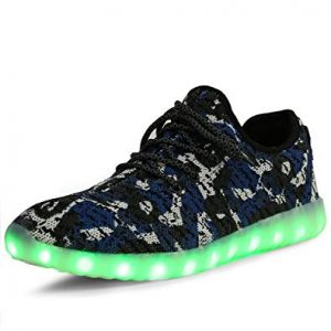 Camouflage Mesh Light Up LED Sports Shoe