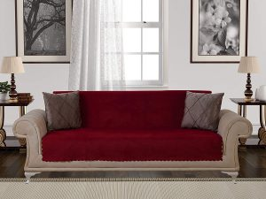 Chiara Rose Anti-Slip Armless Sofa Protector
