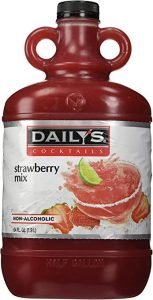Dailys 64 oz. Strawberry Daiquiri & Margarita Mix