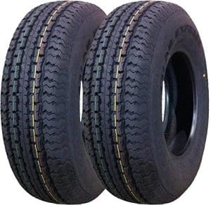 Grand Ride 2 New ST 205/75R14 Trailer Tires