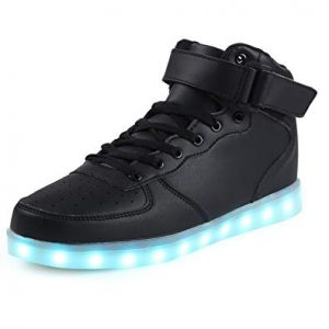 High Top Dance Light Up Sneakers