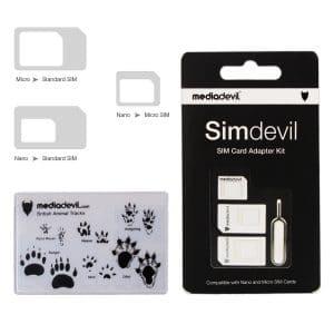 MediaDevil Simdevil SIM Card Adapter