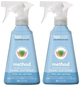 Method Dryer Activated Fabric Softener Spray