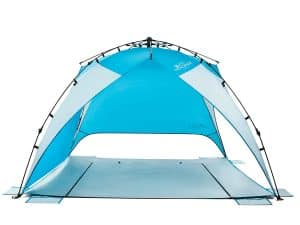 Pacific Breeze Easy-up Beach Tent
