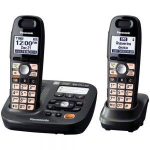 Panasonic KX-TG6592T 2-Handsets Cordless Phone