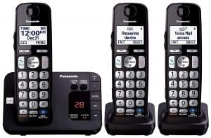 Panasonic KX-TGE233B Expandable Cordless Digital Phone