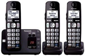 Panasonic KX-TGE233B Expandable Cordless Digital Phone
