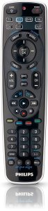 Philips SRP5107/27 Universal Remote Control featuring Simple Set-up (Black)