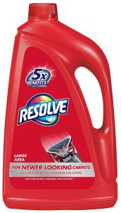 Resolve Carpet Steam Cleaner Solution