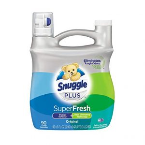 Snuggle Plus Super Fresh Fabric Softener with Odour Eliminating Technology, 95 Ounce