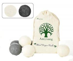 Wool Dryer Balls from Simple Natural Products