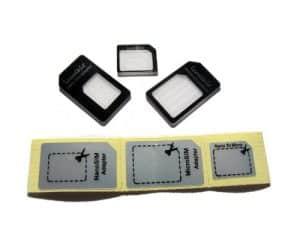 toolkit Nano, Micro, Standard SIM Card Adapter