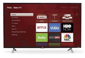 TCL 43S305 43-Inch 1080p Roku Smart LED TV - 43-inch TVs