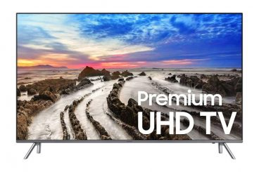 Samsung Electronics UN55MU8000 55-Inch 4K Ultra HD Smart LED TV