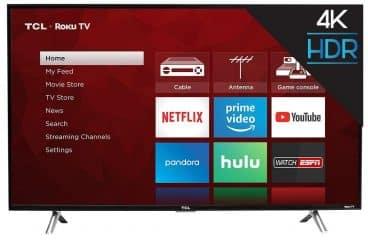 TCL 49S405 49-Inch 4K Ultra HD Roku Smart LED TV