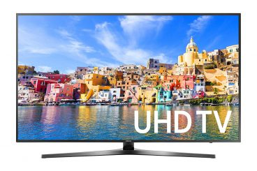 Samsung UN43KU7000 43-Inch 4K Ultra HD Smart LED TV - 43-inch TVs