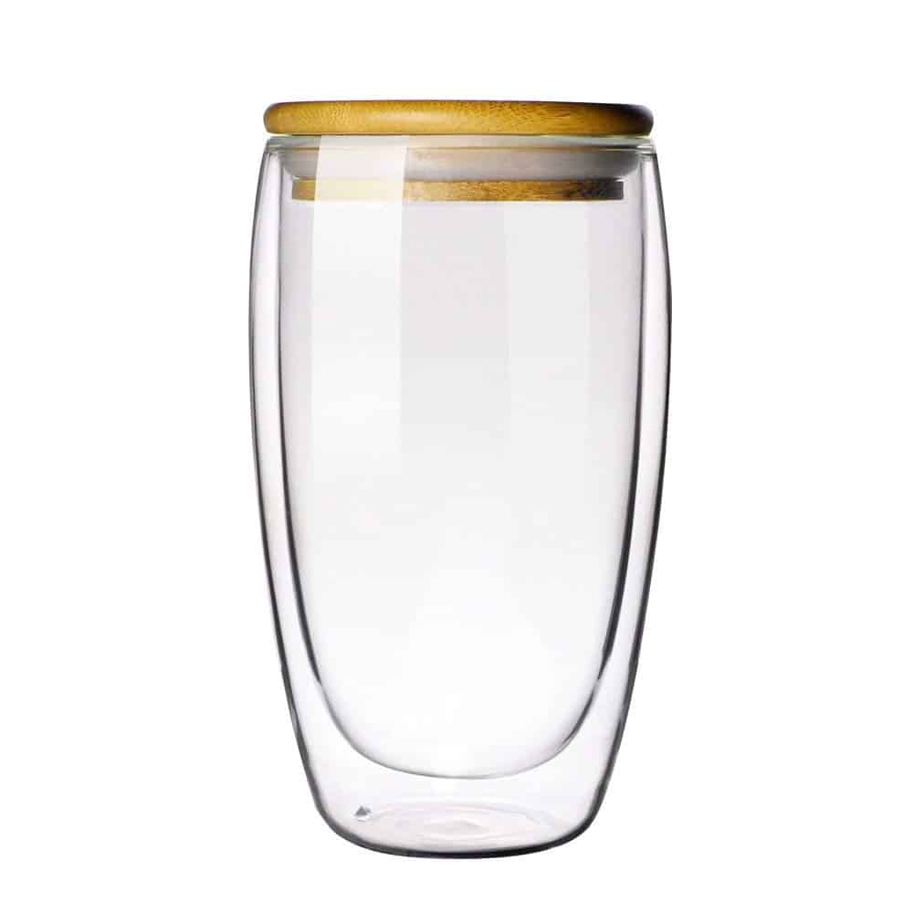 Double-wall Borosilicate Glass Cup Coffee Mug Cup