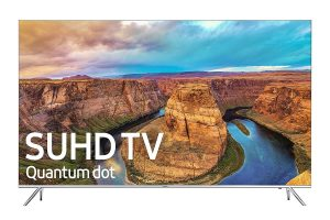 Samsung Electronics UN49KS8000 49-Inch 4K Ultra HD Smart LED TV