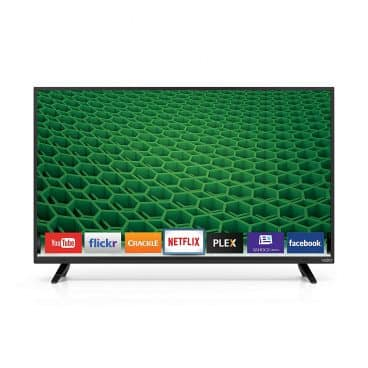 VIZIO D40-D1 D-Series 40 Inch 1920 x 1080 Class Full Array LED Smart TV