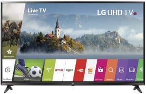 LG Electronics 49UJ6300 49-Inch 4K Ultra HD Smart LED TV
