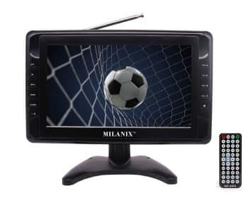 "Milanix MX9 9"" Portable Widescreen LCD TV"