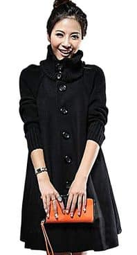 Women's Warm Stylish Wool Jacket Winter Coat