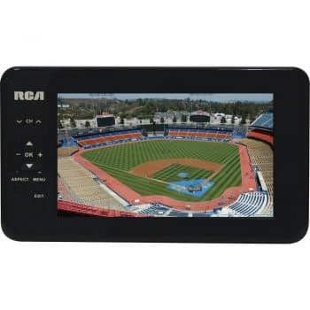 "RCA 7"" Portable Widescreen LCD TV with Detachable Antenna"