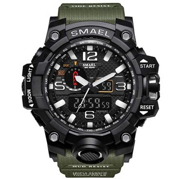 KXAITO Men's Sports Outdoor Waterproof Military Tactical Watch Date
