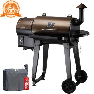 Z Grills ZPG-450A 2020 Upgrade Model, Wood Pellet Smoker
