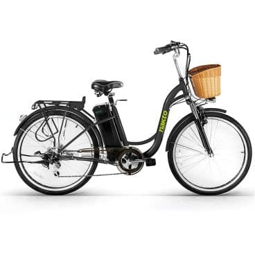 NAKTO Electric Bicycle Sporting Shimano 6 Speed Gear EBike