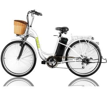 NAKTO Electric Bicycle Sporting Shimano 6 Speed Gear EBike