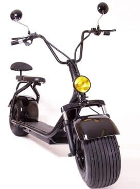 eDrift UH-ES295 Electric Fat Tire Scooter Moped