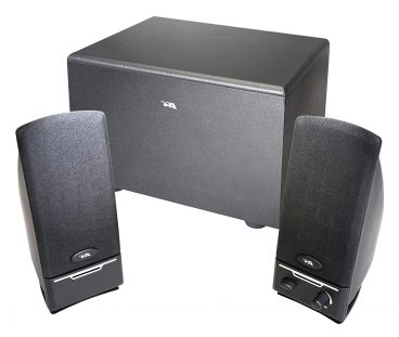 Cyber Acoustics 2.1 PC computer speakers with subwoofer