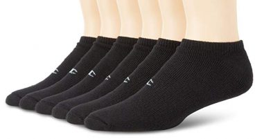 Champion Mens Double Dry Performance No-Show Socks