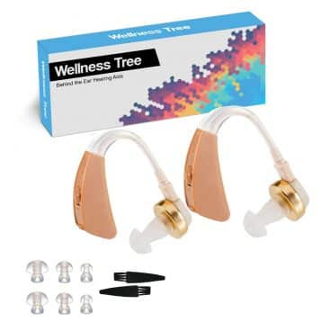 Digital Personal Sound Amplifiers Behind the Ear Hearing Aid Batteries