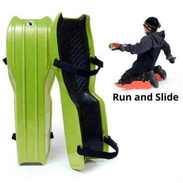 Sled Legs Wearable Snow Sleds