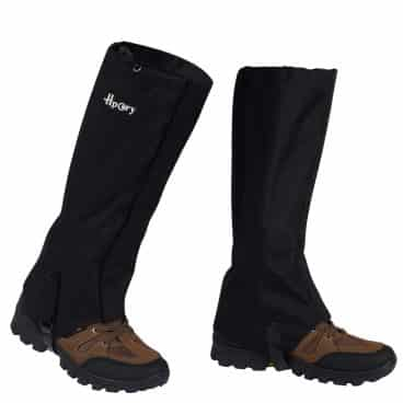 Hpory 1 Pair Hiking Leg Gaiters