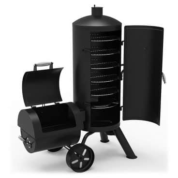 Dyna-Glo Signature Series DGSS1382VCS-D Heavy-Duty Vertical Offset Charcoal Smoker & Grill