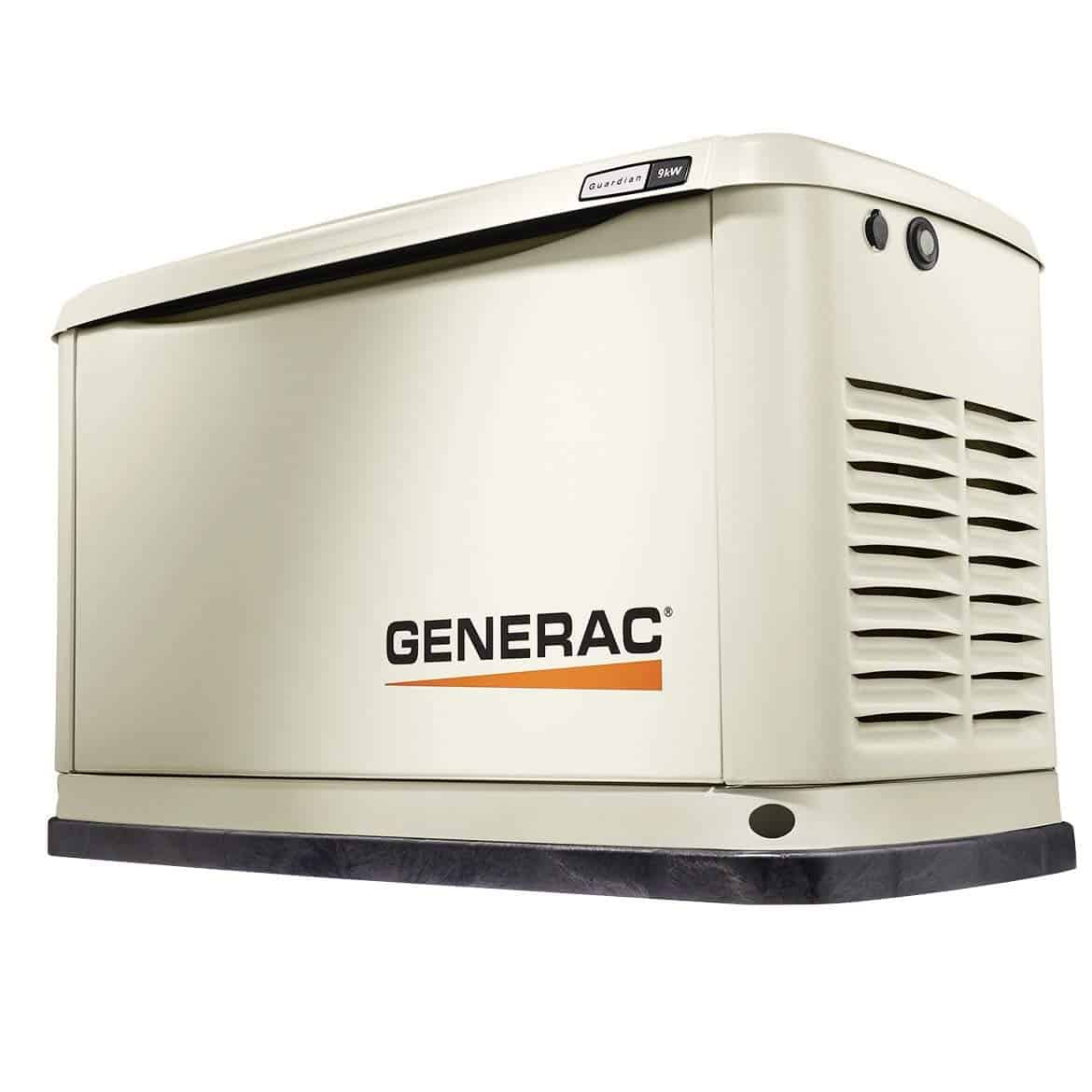 Generac 7029 Guardian Series 9kW/8kW Air Cooled Home Standby Generator
